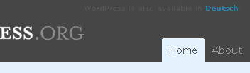 Screenshot wordpress.org