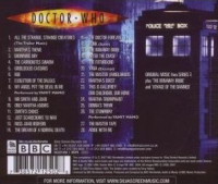 Rückseite der CD