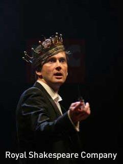 David Tennant als Hamlet