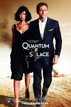 Kinoplakat Quantum of Solace