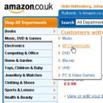 MP3s bei Amazon
