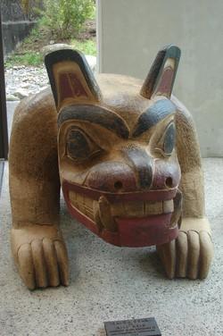 Haida-Skulptur