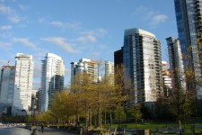Hochhäuser in Downtown
