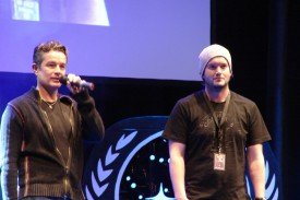 James Marsters und Gareth David-Lloyd