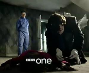 Lestrade und Holmes
