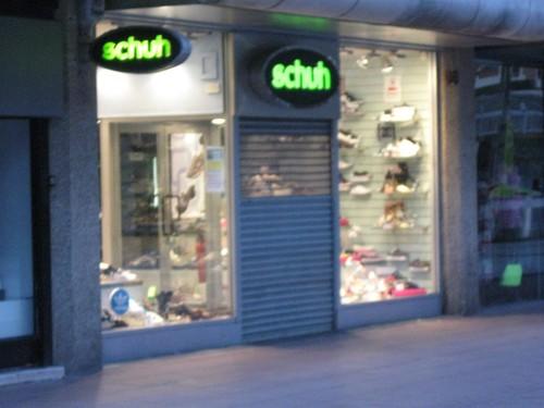 Schuh-Laden