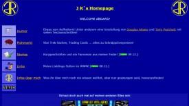 JR's Homepage 1998