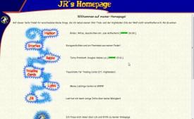 JR's Homepage 2001