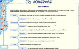 JRs Homepage 2003