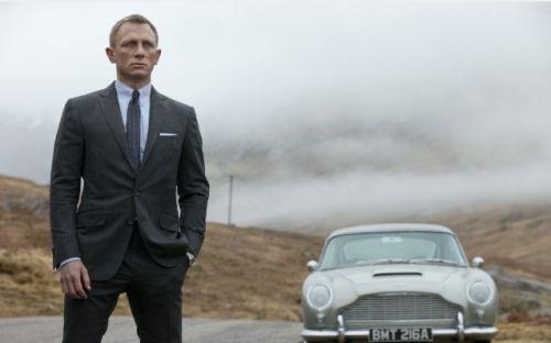 James Bond zu Hause