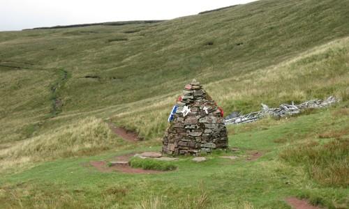 Wrack in den Brecon Beacons