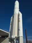Modell der Ariane V