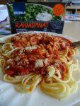 Spaghetti vs. Spinat