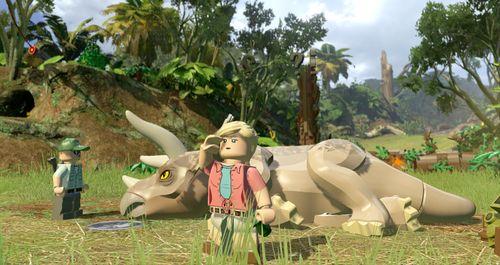 Ellie Sattler heilt Dinosaurier