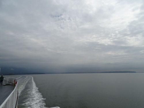 Überfahrt von der Horseshoe Bay aus