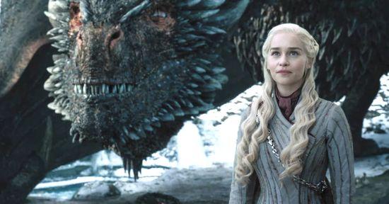 Daenerys und ihr Drache