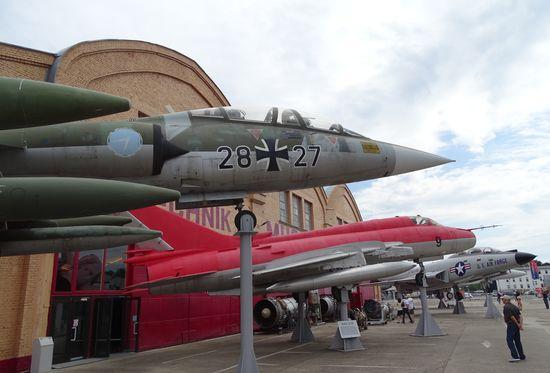 Kampfflugzeuge in Speyer