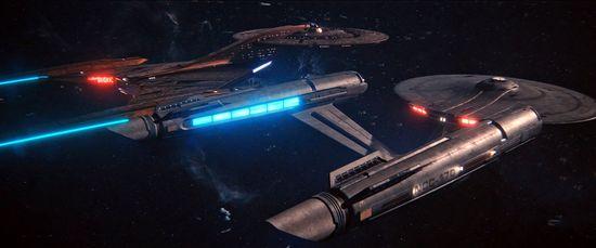 Discovery und Enterprise