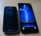 S4 mini und LG G8s